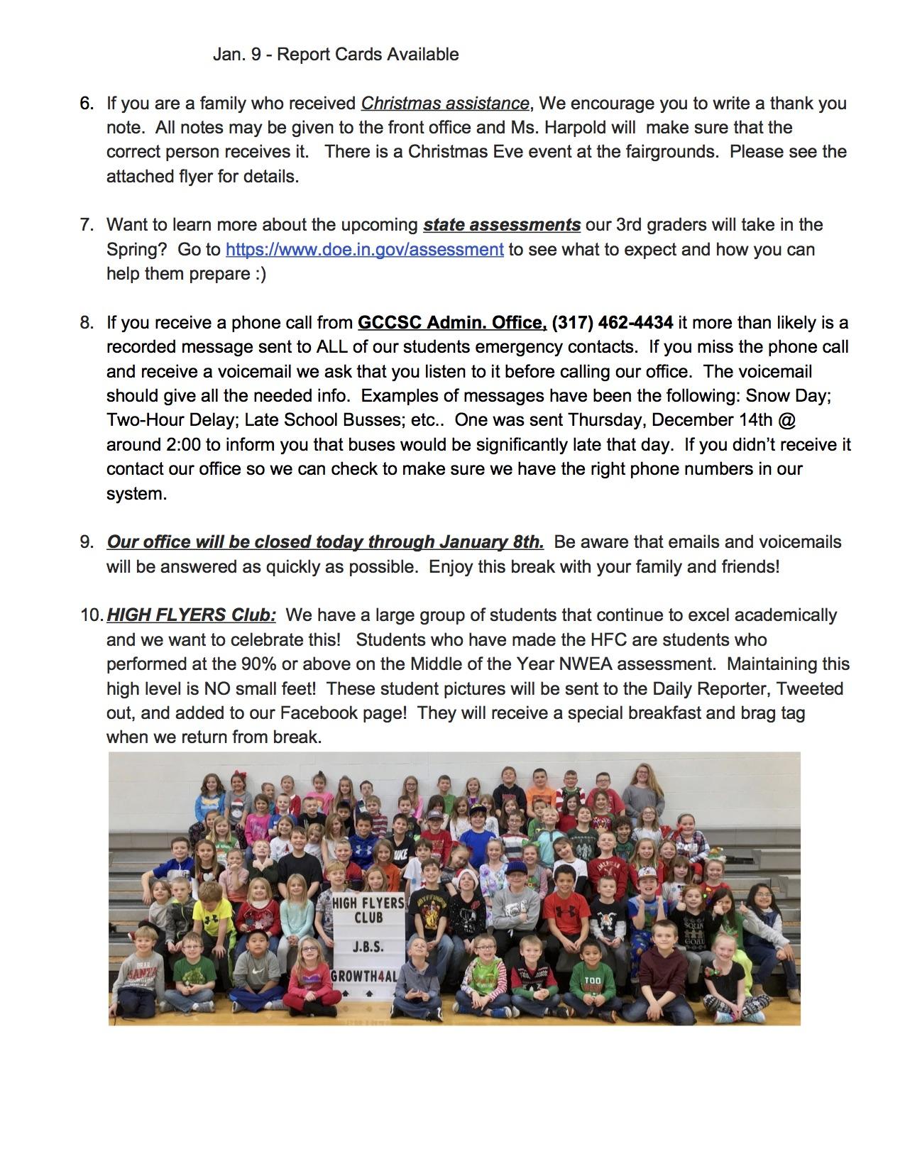 Weekly JBS News – J B  Stephens Elementary School